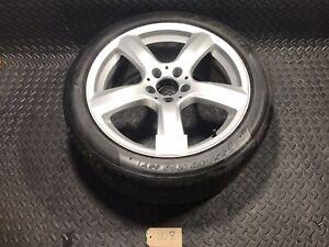 "Mercedes E Class  18"" Alloy Wheel Tyre A2184010102 255 40 R 18 *Rim/ Tyre Damage"
