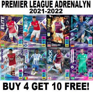 Panini Adrenalyn XL Premier League 2021/22 Foil Cards - Ice, Fire etc 2021/2022