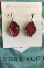 NWT Kendra Scott Dax Earring in Red Berry illusion $70.00