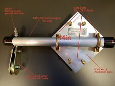 Side Arm HAM Antenna Mount with polley