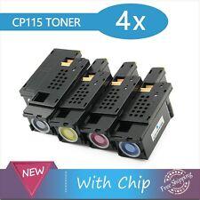 4x Toners Compatible Fuji Xerox Cm115w Cm225fw Cp115w Cp116w Cp225w