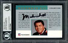 Muhammad Ali Autographed Signed 1992 Proline Portraits Card Beckett 11318444