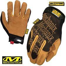 Guanti MECHANIX Leather Original Tactical Gloves Softair Security Antiscivolo