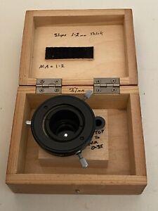 LOMO BIOLAM DARKFIELD CONDENSER Oil Immersion Microscope Accessory
