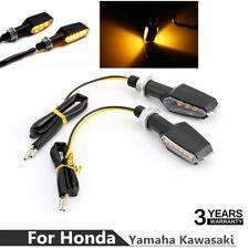 2pcs Motorcycle Double Side LED Turn Signal Light For Honda Yamaha Kawasaki