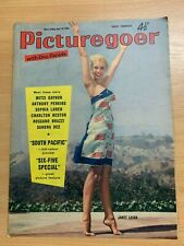 19 APR 1958 PICTUREGOER UK MOVIE MAGAZINE - SOUTH PACIFIC / JANET LEIGH COVER