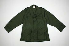 VTG 1960's french military chore work jacket smock size S militaria