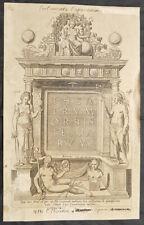 1574 Abraham Ortelius Antique Atlas Title Page Theatrum Orbis Terrarum - 32017
