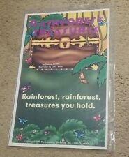 Rainforest Treasures You Hold Teacher Children's Large Story Cards/Posters