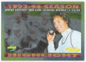 1994-95 Score Gold Line #241 Wayne Gretzky