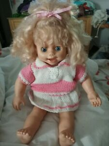Playmates Amazing Amy 1998 Clock talking Doll Size L Height 17ins wide 13ins