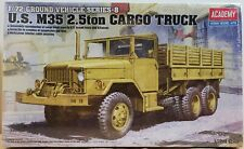 ACADEMY Model Kit 1/72 US Army M35 2.5ton Cargo Truck Military Vehicle 13410