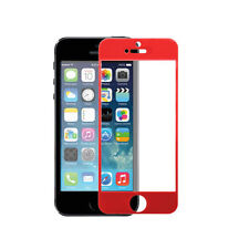 Multi-Color Real Tempered Glass Screen Protector Guard Shield For iPhone 5 5S SE