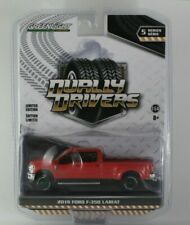 CHASE, Greenlight Dually Drivers Series 5 2019 Ford F-350 Race Red Green Machine