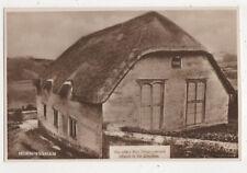 Horningsham Free Congregational Church Wiltshire England Rppc Postcard Us051