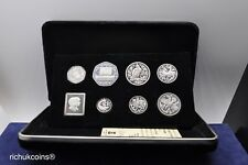 [1982 IOM MSet]1x Isle of Man 1982 Mint Set Silver Coin Collection (7 coins)-UNC