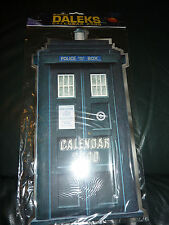 New and sealed Dr Doctor Who and the Daleks Calendar 2000.