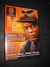 "8 film collection DVD Characters of Courage ""The River Niger"" Samuel Jackson MOR"