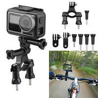 360 Rotation Bike Handlebar Clip Holder Mount For GoPro Hero 8/7/6/5/Osmo Action