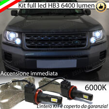KIT FULL LED LAND ROVER FREELANDER 2 II LAMPADE LED HB3 6000K NO AVARIA LUCI