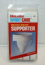 Vintage Mueller Jock Strap Athletic Supporter LARGE Sport Care 1995 NOS USA Made