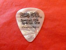 Cheap Trick Tour Guitar Pick Rick Nielsen White Pearl