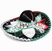 Mariachi Charro Authentic Mexican Sombrero Hat Accessory Folklorico Outfit New