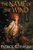 Patrick Rothfuss Name of the Wind Kingkiller 1 HC Original Book Club Edition VG+