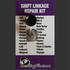 Chrysler Concorde Transmission Shift Cable Repair Kit w/ bushing Easy Install