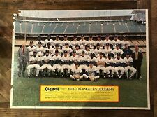 1973 Vintage Olympia Beer -LARGE PUZZLE of *LOS ANGELES DODGERS* Rare!!!