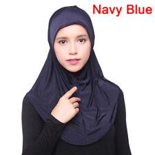 Women's Under Scarf Hat Cap Bonnet Ninja Hijab Islamic Neck Cover Muslim SR