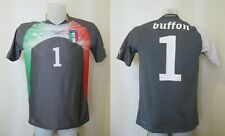 Italy national team #1 Buffon 2010/2012 Goalkeeper YXXL Puma shirt Italia jersey