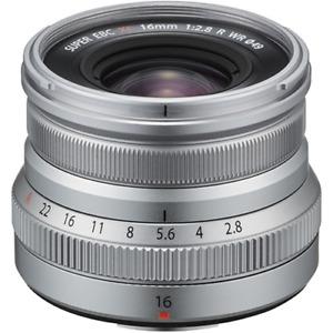 Fujifilm XF 16mm f2.8 R WR X Mount Lens: Silver