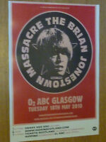 Brian Jonestown Massacre - Glasgow may 2010 live music show concert gig poster