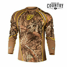 Scent Blocker 1.5 Performance Long Sleeve Shirt Mossy Oak Country - 2XL NEW