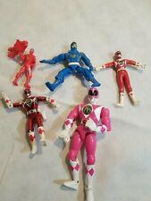 Wholesale lot Vintage Power Rangers Action Figures and Power Ranger Figures.