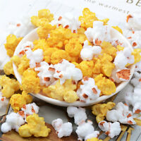 DIY Multipurpose Resin Popcorn Random 2-3cm Fake Food Cabochons Decors 10 pcs