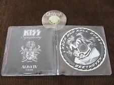 2 CD Promo Kiss Symphony Alive IV EU 2003 Mega Rare