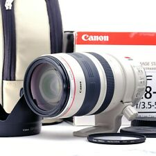 """""""Boxed Top Mint"""" Canon EF 28-300mm f/3.5-5.6 L IS USM Lens w/ Kenko Filter 65156"""