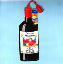 Bookmark Chateau Red Wine Bottle Hamster Mouse Marmot Bedford Drink Xmas Gifts