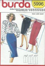 burda 5996 Misses' Skirts 8 to 40 *Extremely Rare*  Sewing Pattern