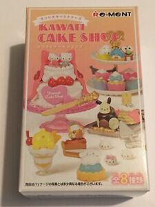 Sanrio Re-ment Kawaii Cake Shop Blind Box Sanrio Kawaii Miniature From Japan New