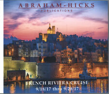 Abraham-Hicks Esther 10 CD French Riviera Cruise 2017 - NEW