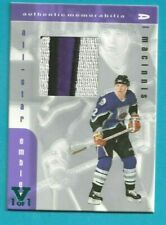 1999-00 ITG Be a Player AL MACINNIS ALL-STAR EMBLEM PATCH #E-13 VAULT 1/1