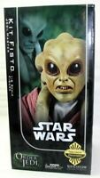 """Sideshow Star Wars Order of the Jedi Kit Fisto Exclusive 12"""" Action Figure NEW"""