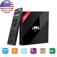 H96 PRO Plus Amlogic S912 Octa core 3GB/16GB Android Set Top TV BOX 4K Movie
