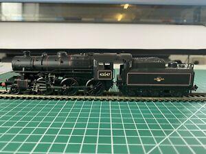 Bachmann  OO Locomotive Ivatt Class 4 in BR Black, late crest. DCC ready