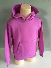 BNWT Girl's Sz 6 Very Pretty Purple Long Sleeve Windcheater Style Hoodie Top
