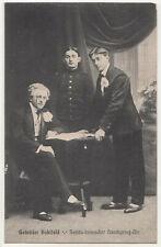 Ak Gebrüder Hohlfeld Seriös komischer Handspring Akt Dresden 1910er  (A3218