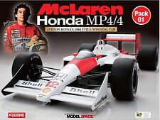 1/8 DeAGOSTINI KYOSHO McLaren Honda MP4/4 Model + FREE SENNA figure Final sales